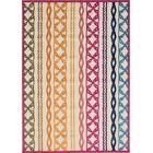 Shultz Orange/Pink Indoor/Outdoor Area Rug Rug Size: Rectangle 5'3