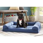Bernice Quilted Orthopedic Sofa-Style Dog Bed Color: Wine Red, Size: Medium (30
