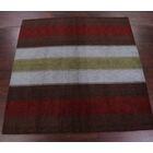 Seidman Jaipur Oriental Hand-Knotted Wool Brown Area Rug