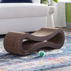 Daniela Ultimate Cat Scratcher Lounge & Bed Color: Walnut Brown
