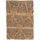 Rumi Hand-Knotted Brown Area Rug Rug Size: Rectangle 5' x 8'