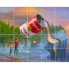 'Inspiration' Oil Painting Print Multi-Piece Image