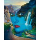'Mother Nature' Oil Painting Print Multi-Piece Image