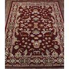 Melissa Kashan Oriental Hand-Tufted Wool Burgundy/Beige Area Rug Rug Size: Rectangle 10' x 12'10