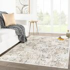 Dowdy Beige/Gray Area Rug Rug Size: Rectangle 5' x 7'6