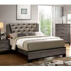 Major Upholstered Panel Bed Size: Queen