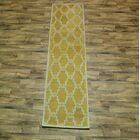 Fortune Oriental Hand-Tufted Wool Yellow Area Rug