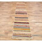 One-of-a-Kind Seidman Oriental Hand-Knotted Wool Beige/Orange/Green Area Rug