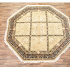 One-of-a-Kind Gabriela Pakistan Oriental Hand-Knotted Wool Brown Area Rug