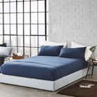 Romeo Sheet Set Size: Queen, Color: Nightfall Navy