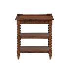 Clive 1 Drawer Nightstand Color: Brown