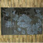 Kathy Agra Oriental Hand-Tufted Wool Brown Area Rug
