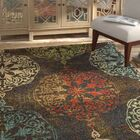 Hedberg Medallions Brown/Green Area Rug Rug Size: Rectangle 9'10