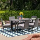 Peabody 7 Piece Dining Set with Cushions