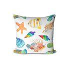 Shepard Under the Sea Indoor/Outdoor Throw Pillow (Set of 2)
