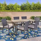 Dudek 7 Piece Dining Set with Cushions