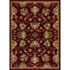 Alondra Burgundy/Brown Area Rug Rug Size: Rectangle 8' x 10'