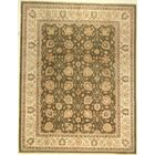 One-of-a-Kind Cora Hand-Knotted Wool Green Area Rug