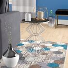 Drakes Iron Wire End Table Color: Silver