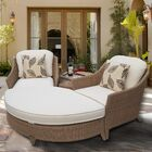 Nantucket 4 Piece 2 Person Seating Group with Cushions