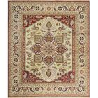 Templeton One-of-a-Kind Hand-Knotted Wool Rust Area Rug