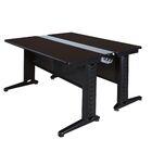 Stivers Benching Station Training Table Tabletop Finish: Mocha Walnut, Size: 26