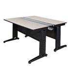 Stivers Benching Station Training Table Tabletop Finish: Maple, Size: 26