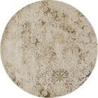 Westby Light Yellow Area Rug Rug Size: Round 5' 3