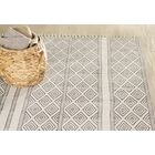 Dunkirk Handmade Off White Area Rug Rug Size: Rectangle 7'6