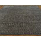 One-of-a-Kind Belmar Hand-Knotted Grey Wool/Silk Area Rug