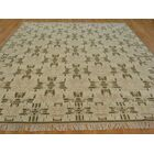 One-of-a-Kind Bettine Classic Design Hand-Knotted Brown Wool Area Rug