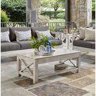 Barden Patio Sofa with Sunbrella Cushions Cushion Color: Cast Silver