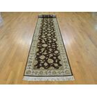 One-of-a-Kind Benally Hand-Knotted Brown Wool/Silk Area Rug