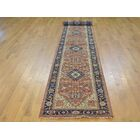 One-of-a-Kind Beare Antiqued Re-creation Hand-Knotted Red Wool Area Rug