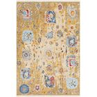 Elvis Distressed Vintage Yellow/Blue Area Rug Rug Size: Rectangle 9' x 12'10