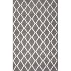 Bellver Hand-Knotted Wool Gray Area Rug Rug Size: Rectangle 8' x 10'