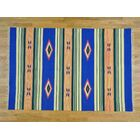 One-of-a-Kind Charon Killim Southwestern Design Handwoven Wool Area Rug