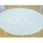 One-of-a-Kind Beaumont Washed Out Hand-Knotted Ivory Wool Area Rug