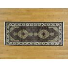 One-of-a-Kind Beaton Hand-Knotted Black Wool/Silk Area Rug