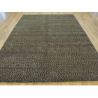 One-of-a-Kind Beverly Hand-Knotted Brown Wool/Silk Area Rug