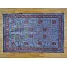 One-of-a-Kind Beauchamp Qom Design Hand-Knotted Silk Area Rug