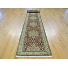 One-of-a-Kind Benally New Zealand Revival Handwoven Red Wool Area Rug
