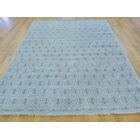 One-of-a-Kind Bridgeforth Turkish Knot Paisley Design Hand-Knotted Grey Wool Area Rug