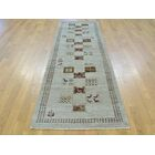 One-of-a-Kind Becker Lori Buft Hand-Knotted Grey Wool Area Rug
