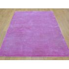 One-of-a-Kind Bobby Hand-Knotted Pink Wool/Silk Area Rug