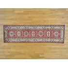 One-of-a-Kind Bechtold Hand-Knotted Red Wool Area Rug