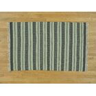 One-of-a-Kind Bessey Reversible Striped Handmade Kilim Wool Area Rug