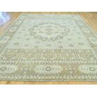 One-of-a-Kind Best Eptian Handwoven Grey Wool Area Rug