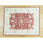 One-of-a-Kind Bearfield Handwoven Red Wool Area Rug