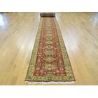 One-of-a-Kind Beeson Karajeh Handwoven Red Wool Area Rug